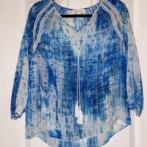 Vince Camuto Blue Top